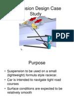 Suspension Design Case Study