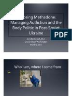 Choosing Methadone