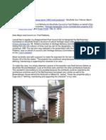 Historical Designation of Bartholomew Farmstead Stouffville Ontario