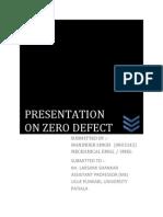 Zero Defect1