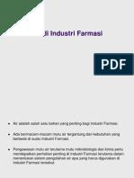 Sistem Pengolahan Air Di Industri Farmasi Unpad 280608
