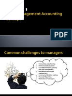 MODULE 1 - Basic Management Accounting Concept