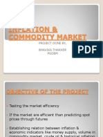 Inflation v/s commodity market