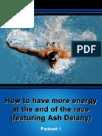 Ashley Delaney Interview - Effortless Swimming