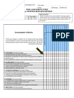 BRM Peer Assessment LHD 03-01-2012