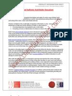 Inhibited Sulfamic Acid Boiler Descalant