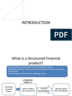 Structured Financial Products - Intro