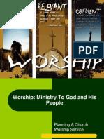 Worship Planning