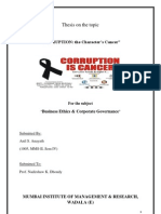 Corruption Thesis