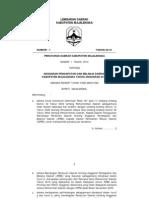 Peraturan Daerah Nomor 1 Tahun 2010 Tentang APBD Kab