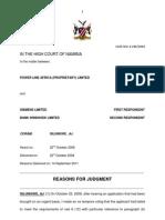 Power Line Africa (Pty) Ltd vs Siemens Ltd-Another