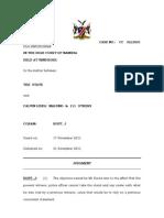 S v C L Malumo and 111 Others. Judg. CC 32-001. Hoff, J. 21 Nov.2011-Mr Kauta