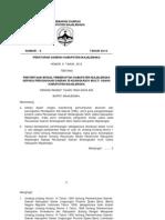 Peraturan Daerah Nomor 8 Tahun 2010 Tentang Penyertaan Modal PD SMU