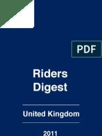 RLB UK Riders Digest 2011