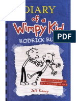 Diary of a Wimpy Kid-rodrick Rules (With Doodle)