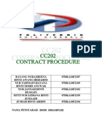 EGSAIMENT Contract Prosedure