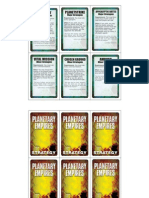 Planetary Empires Strategy Cards 1