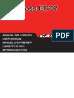 Gas Gas - 2007 Ec2t Manual En