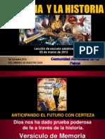 ESCUELA SABÁTICA 2012
