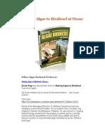 Algae to Biodiesel PDF2