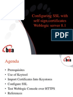 Configuring SSL With Self-signed Certificates[1]