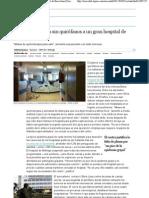 Los recortes dejan sin quirófanos a un gran hospital de Barcelona _ Sociedad _ EL PAÍS