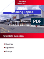 Retailing Topics