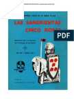 LAS SANGRIENTAS CINCO ROSAS. Historia de la Falange de Santander - Dr. Manuel Felipe de la Mora Villar