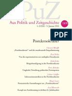 APuZ - Postdemokratie