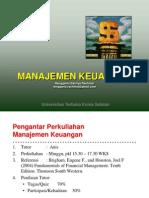 Manajemen Keuangan - Chapter I
