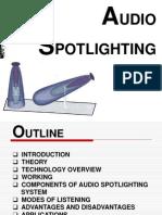 Audio Spotlighting - 2003 Version