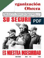 Organizacion Obrera Nº 33