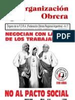 Organización Obrera Nº 34