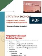 Statistika Ekonomi I - Chapter 1