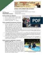 Mission Report - Feb 2012