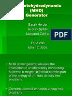 MHD Presentation