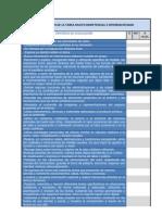 EVALUACIÓN DE LA TAREA MULTICOMPETENCIAL E INTERDISCIPLINAR