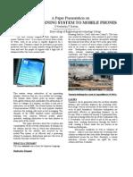 Tsunami Warning System to Mobile Phones (1)