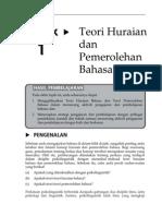 Topik 1 Teori Huraian Dan Pemerolehan Bahasa