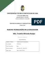 Tecnología Educativa para la Gestión.