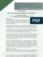 Convocatoria Foro Universitario La Paz Para Web