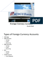 Foreign Currency Accounts ICICI Bank