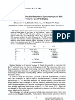 Precila C.F. Ip et al- Optical-Optical Double-Resonance Spectroscopy of BaF