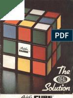 The Ideal Solution - Rubik Rubiks Rubik's Cube - Scanned Book-1981