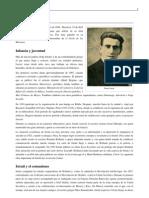 Perfil Biografico de Panait Istrati