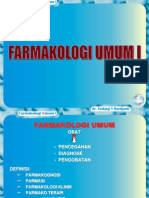 Farmakologi Umum I