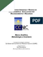 Metodologia e Invent a Rio. Pueblos Originarios Caribe no