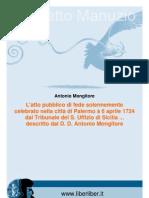 Mongitore Antonio-l Atto