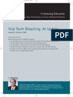 Vital Tooth Bleaching an Update by Strassler