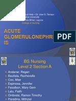 Acute Glomerulonephritis GC